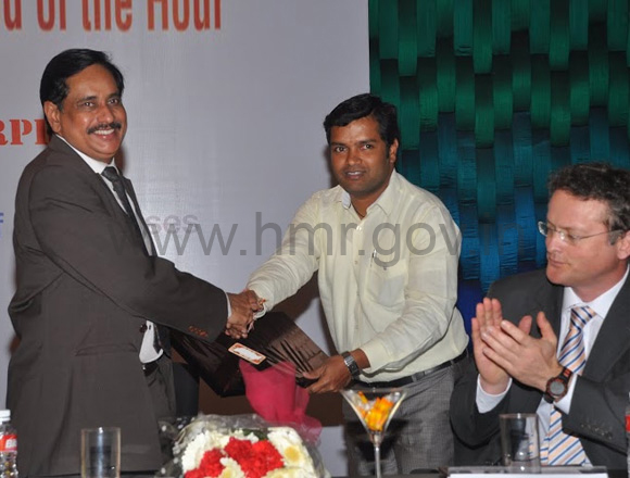 HMR MD Mr.NVS Reddy at a conference 'Public Private Partnership-The Need of the Hour' at Hotel Mari Gold, dt: 24.01.2014