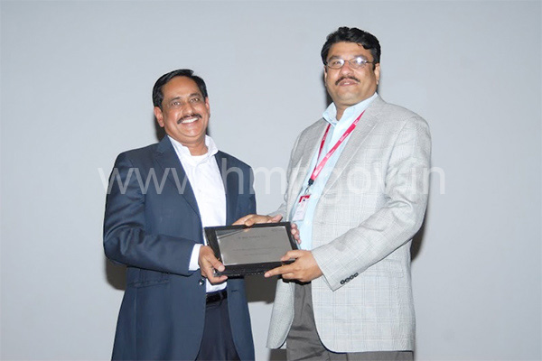 HMR, MD at Tech Mahindra, Madhapur, dt: 13.03.2014