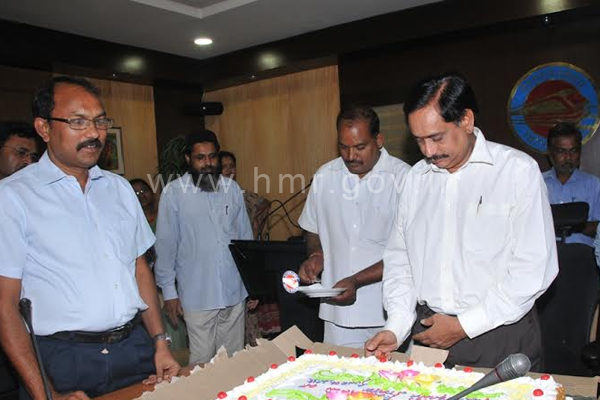 HMR celebrates Formation of Telangana State, dt: 02.06.2014​