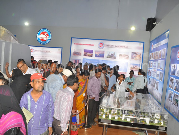 HMR stall at All India Industrial Exhibition Grounds, Nampally, dt: 18th & 19th of January, 2014