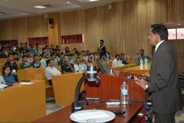 MD, HMR Mr. NVS Reddy as Chief Guest at BITS Pilani Hyderabad, dt:12.10.2014