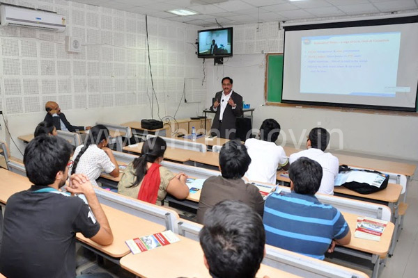 MD, HMR Mr. NVS Reddy at IIT Hyderabad dt.15.03.2014