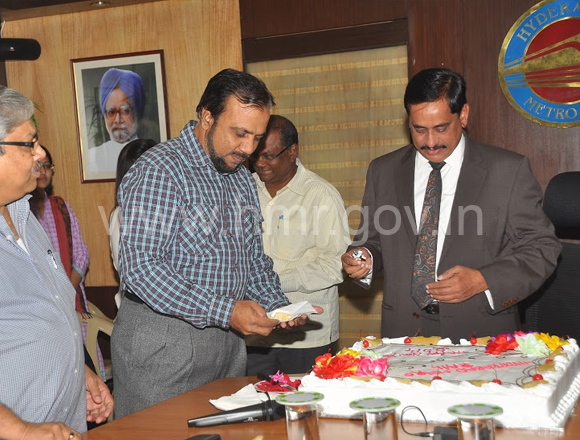New Year - 2014 celebrations at HMR Bhavan