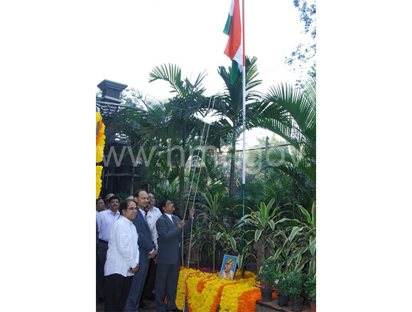 Republic Day Celebrations at HMR Bhavan, dt:26.01.2014