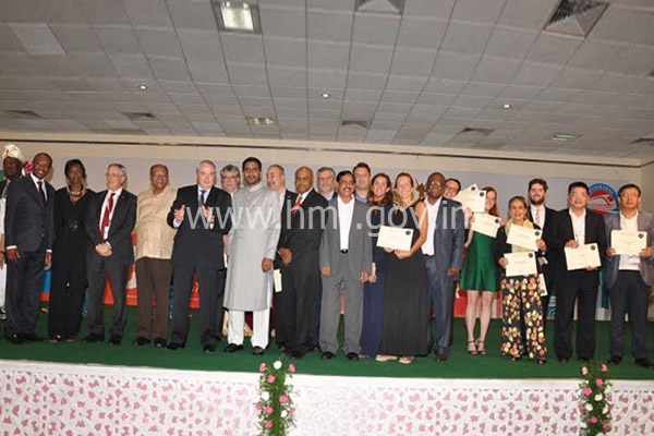 World Metropolis Congress Delegates at Jalavihar, dt:09.10.2014