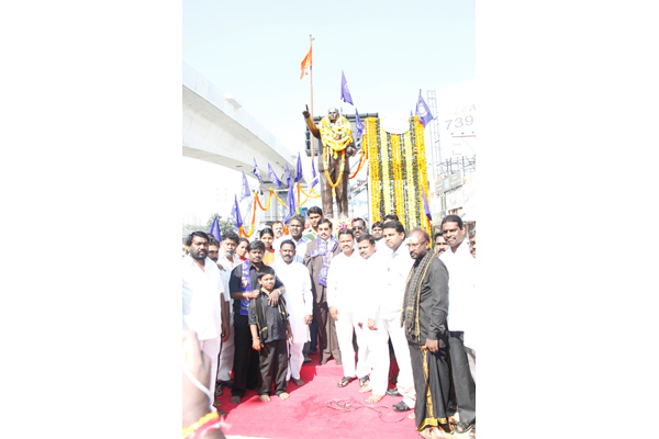 MD, HMR participating in the 58th Anniversary celebrations of Dr. B R Ambedkar on 06.12.2014